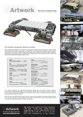 Crawler Transporter assembly instructions
