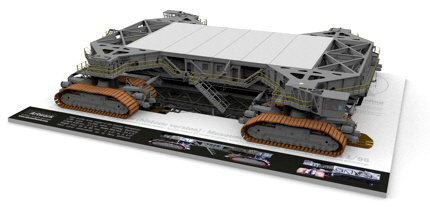 Crawler Transporter model kit