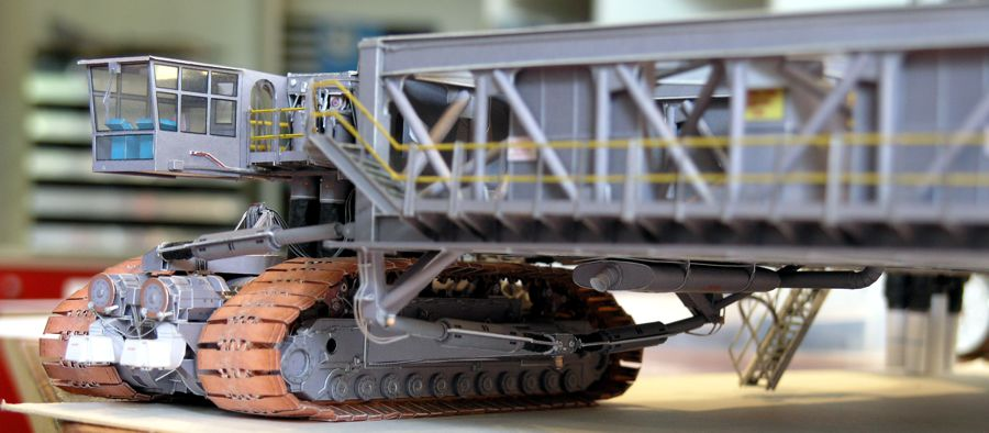 Crawler Transporter model