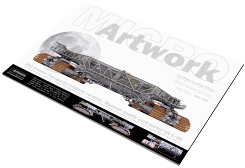Crawler Transporter 1/96 model kit